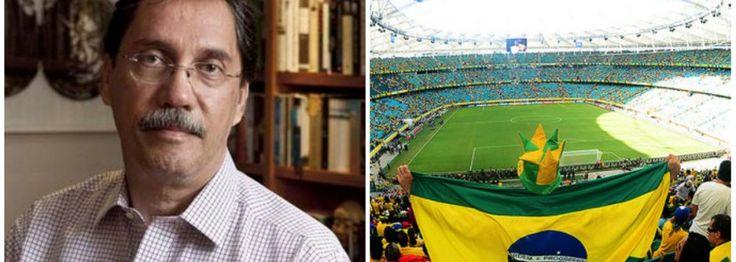"""Colunista diz que, com o slogan """"Copa das Copas"""", o governo tentou transformar a competição em mais uma realização petista; segundo Merval Pereira, """"depois da efêmera pacificação que a Copa está dando ao ambiente político, a realidade do dia a dia voltará a ser encarada pelo eleitorado"""":"""