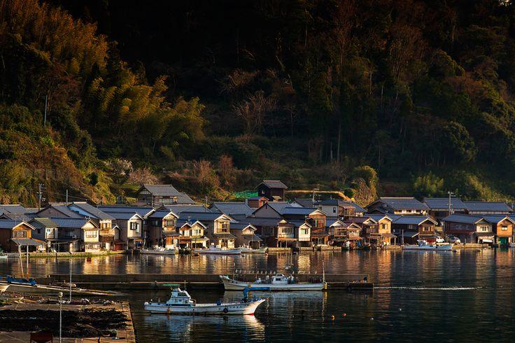 伊根の舟屋の画像(写真)
