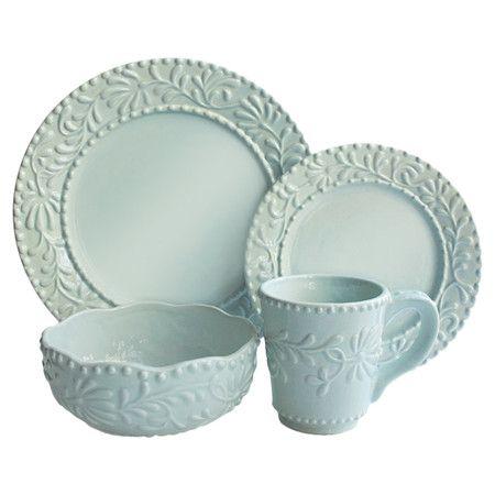 16-Piece Isabelle Round Dinnerware Set at Joss and Main