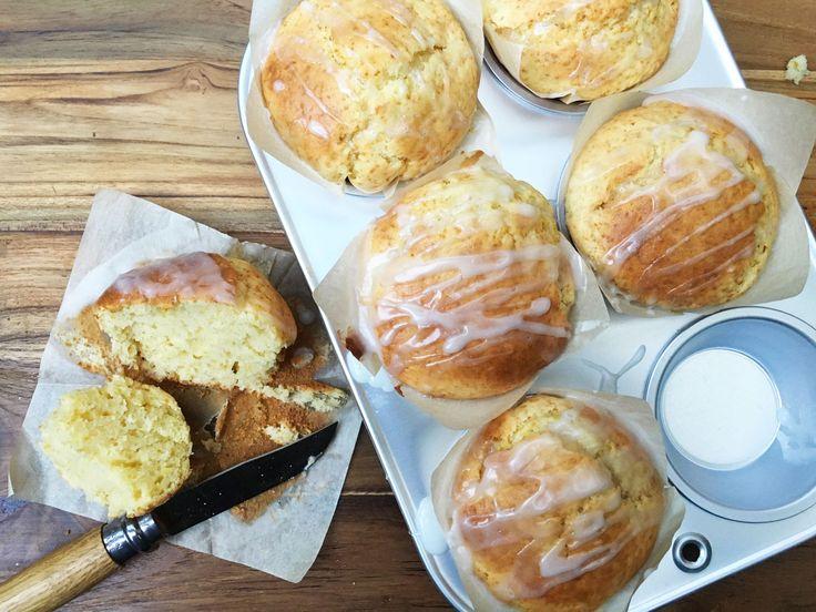 Muffins healthy au citron (allégé) http://www.hervecuisine.com/recette/recette-des-muffins-alleges-au-citron/