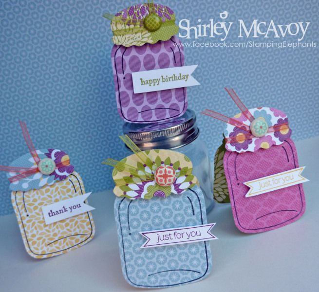 Perfectly Preserved Gift Tags. So cute! Going to make these for my stamp club gals....