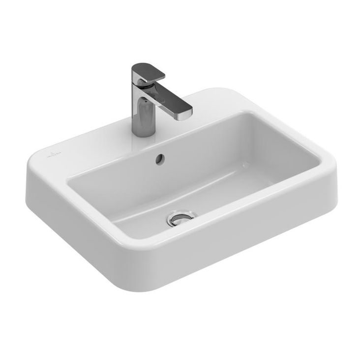 Villeroy & Boch Architectura Einbauwaschtisch weiß mit CeramicPlus