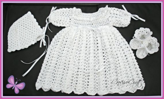Christening / Special occasion outfit for 0  6 by Cre8iveCraft