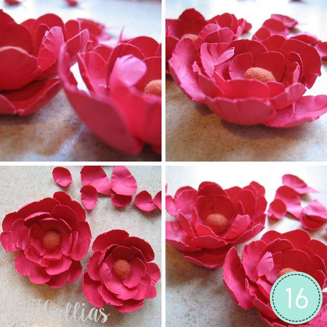 ProjectGallias: #projectgallias: DIY: Kwiaty z papieru (bez wykrojników)
