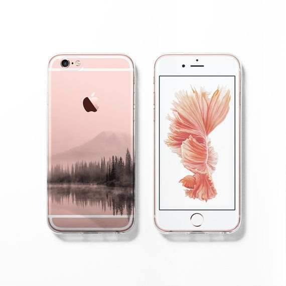 Show off your new rose gold iPhone 6s with this countryside clear / transparent case! - Full wrap-around design, the pattern goes all over the case including sides and back. - Fits for all version of