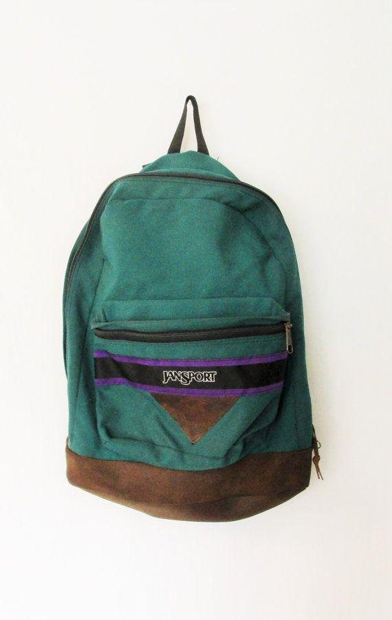 Vintage 1980's Jansport Backpack by FreshtoDeathVintage on Etsy