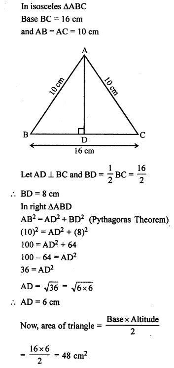 Selina Concise Mathematics class 7 ICSE Solutions - Mensuration-22b | Education math, Math formulas, Math vocabulary