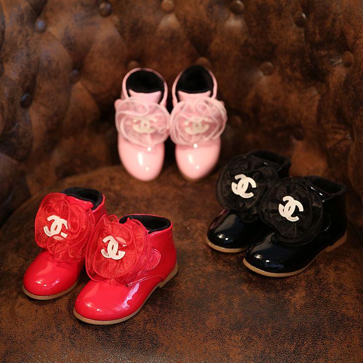 Goedkope Plus fluwelen 2016 winter en herfst nieuwe mode kinderen laarzen kant prinses schoenen meisjes laarzen katoen laarzen katoen gevoerde schoenen, koop Kwaliteit laarzen rechtstreeks van Leveranciers van China: Grootte als volgt:( binnenzool length=foot length+1cm)   Ons grootte 8==insole lengte 15,2 cm   Ons grootte