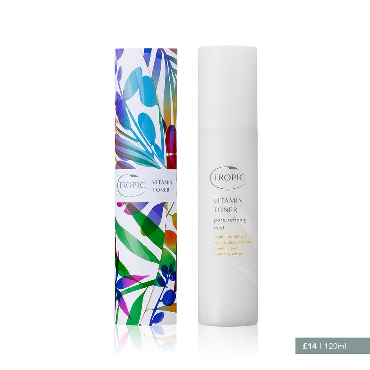 Vitamin Toner - pore refining mist, bursting with naturally hydrating juices, instant skin refresher is infused with vitamins and amino acids to help balance pH and reduce pour size. Hero Ingredients - Aloe Vera, Vitamin C and Rose Water