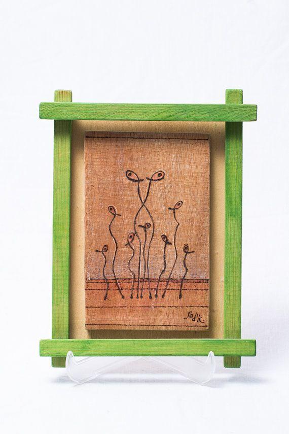 22 besten Wood burned art Bilder auf Pinterest | Hängendes kunstwerk ...
