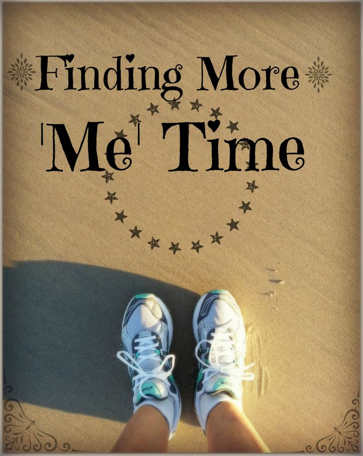 Finding more me time