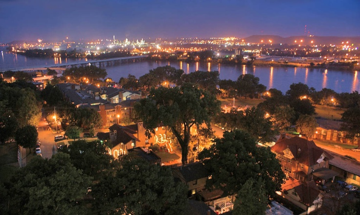 Tulsa river lights: Jenks Riverwalk is my all time fave. Summer hangout :)