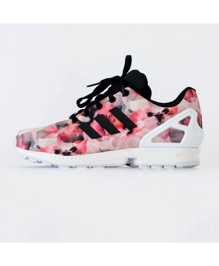 save off 23e09 1a39e Buy Adidas Zx Flux Womens Floral Sale T-1504