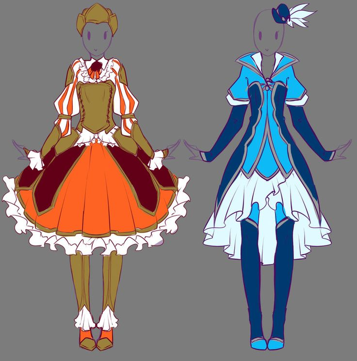 2014 August Outfits Commissions 1 by rika-dono.deviantart.com on @DeviantArt