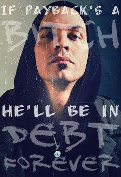 Sean Daley aka Slug from Atmosphere. The only person ive never met but had a huge amount of feelings and respect for