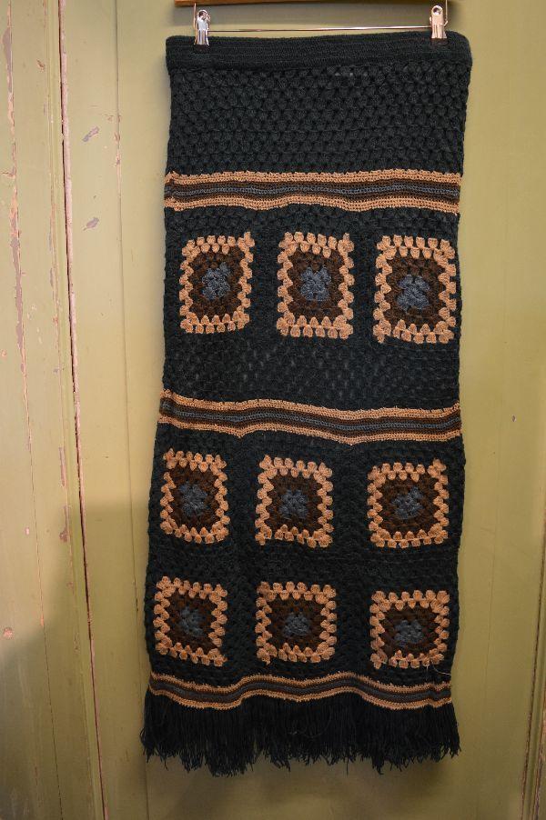 Gipsy Ibiza rok met gehaakte ornamenten en franjes, super trendy! Ik heb hem nog alleen andere kleur.
