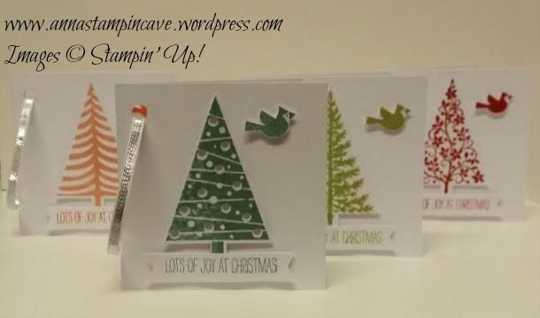 Tag-tastic Festival of Trees by Stampin' Up!: