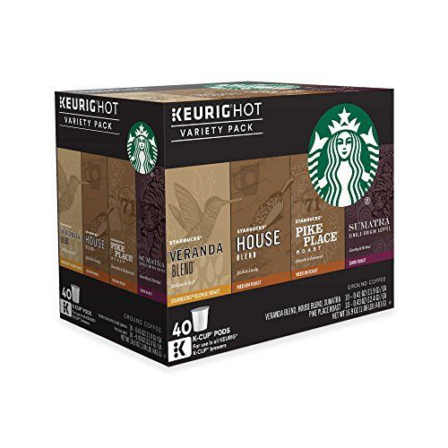 Starbucks Coffee Keurig K-Cup Variety Pack, 40 Count - http://www.freeshippingcoffee.com/k-cups/starbucks-coffee-keurig-k-cup-variety-pack-40-count/ - #K-Cups