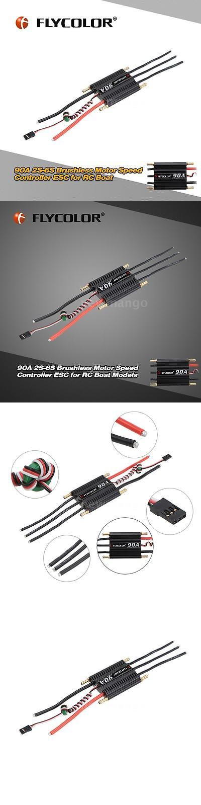 Boats and Watercraft 34058: Flycolor 90A 2S-6S Electronic Speed Controller Esc With 5.5V 5A Switch Bec Q1y1 -> BUY IT NOW ONLY: $31.04 on eBay!
