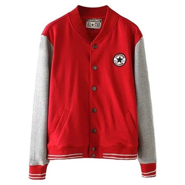 Long Sleeve Snap Button Varsity Jacket ($34) ❤ liked on Polyvore featuring outerwear, jackets, black, letterman jackets, black varsity jacket, varsity bomber jacket, college jackets and snap button jacket