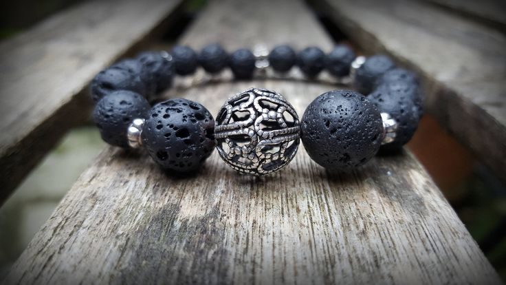 A personal favourite from my Etsy shop https://www.etsy.com/ie/listing/553259478/lava-stone-stretch-bracelet-for-women