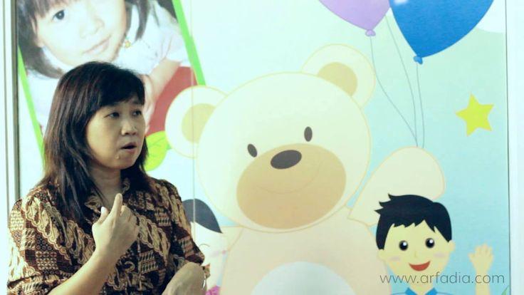 Video testimoni dari Ibu Floranita (Owner dari My Tootsie Bear).  PT. Arfadia bekerjasama dengan My Tootsie Bear dalam membangun Website Company Profile dan Pembuatan Video Company Profilenya selama kurang lebih 1 bulan.   My Tootsie Bear - Day Care, Child Care, Tempat Penitipan Anak di Jakarta. http://www.mytootsiebear.com  PT. Arfadia - Web Design and Development http://www.arfadia.com #TestimonialVideo #VideoMarketing #VideoProductionCompany #VideoProduction