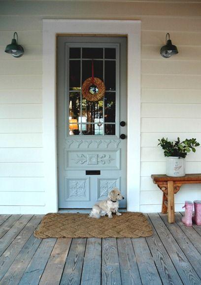 1000 Ideas About Front Door Lighting On Pinterest Kitchen Doors Cottage Front Doors And