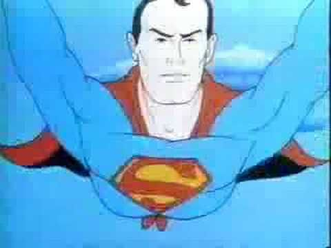 The original Superman cartoon opening