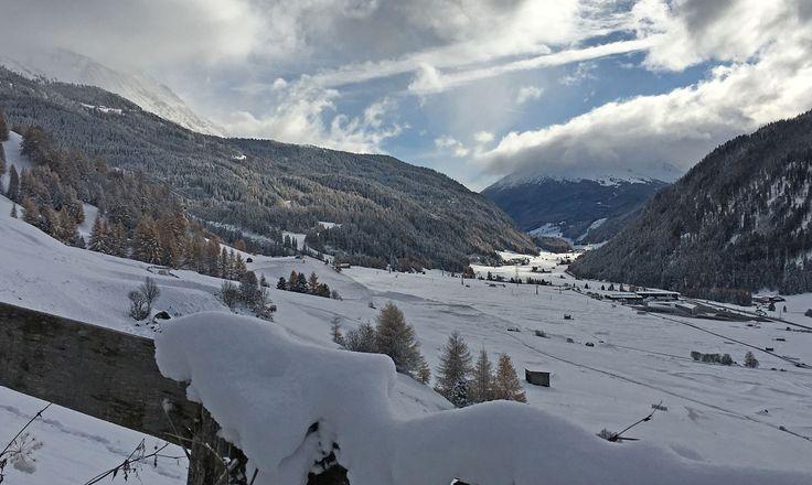 Der erste Schnee: Wintereinbruch in Nauders am Reschenpass
