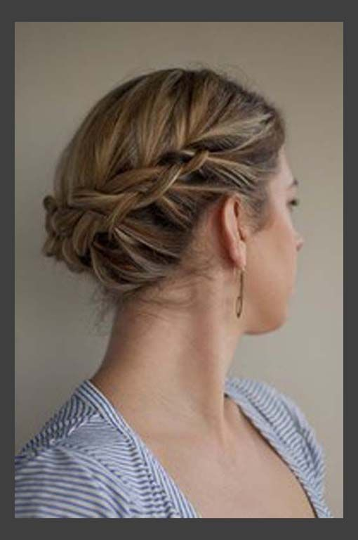 Simple Formal Hairstyles For Thin Hair : Best 25 wedding updos for shoulder length hair ideas on pinterest
