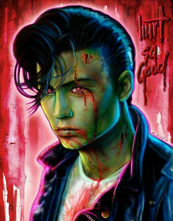 Cry baby as a zombie. Would make an amazing tattoo.