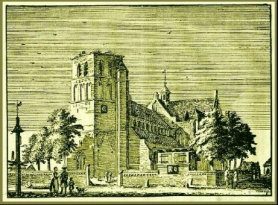 Deurne: Bij de brand van 3 februari 1737 in de Deurnese kerktoren, die ontstond ten gevolge van blikseminslag, verloor Deurne de oude klokken uit 1474, het torenuurwerk en de hoogste toren van Peelland.