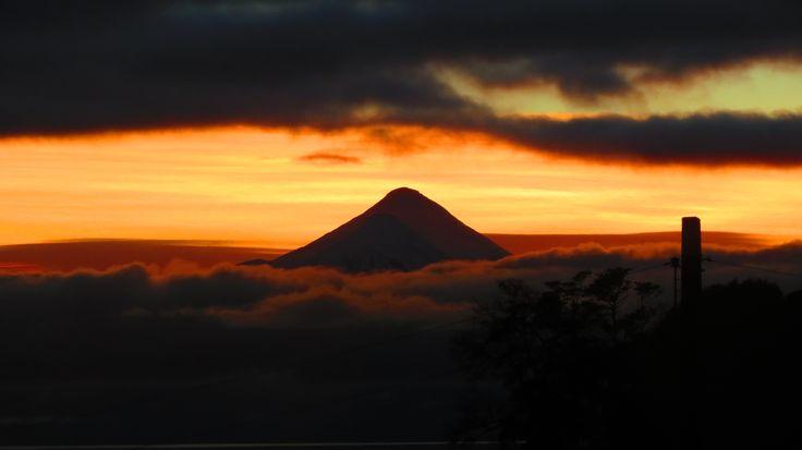 Volcán Osorno al amanecer