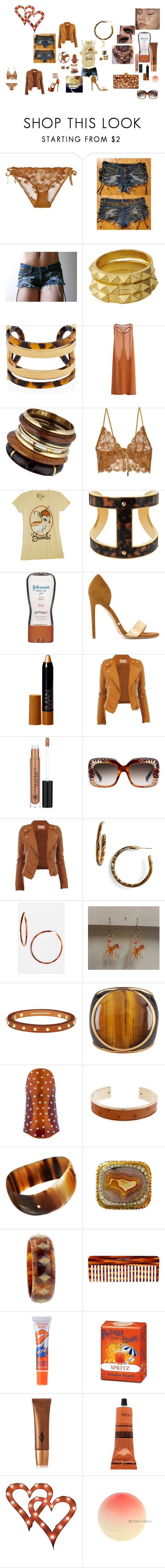 Bambme by mskillgalore on Polyvore featuring Mighty Fine, CO, For Love & Lemons, MTWTFSS Weekday, Gianni Renzi, L. Erickson, Disney, Tom Ford, Mark Davis and Tory Burch