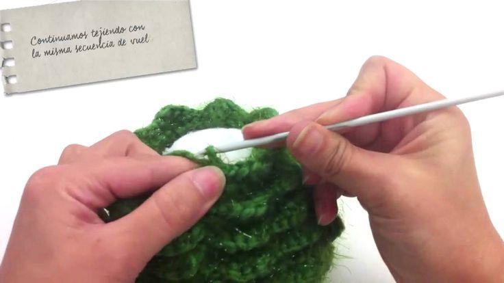 Tutorial Árbol de Navidad de Crochet - Misslanitas