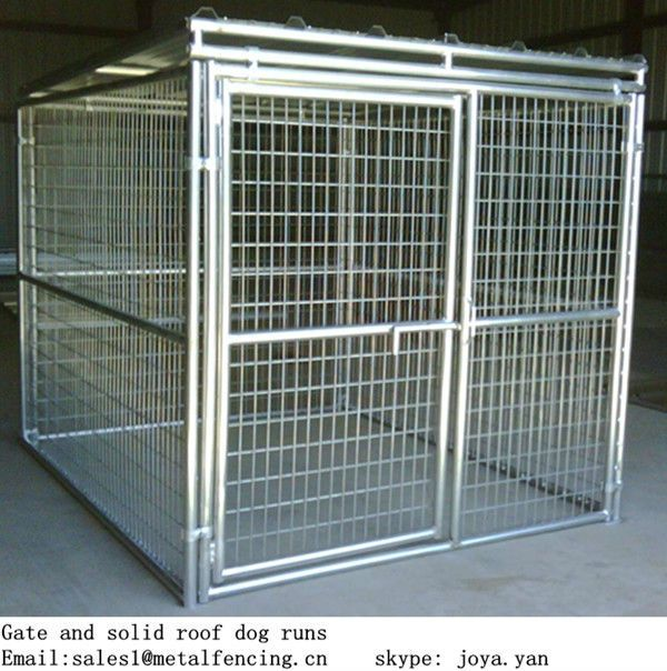 5'x10'x6' big dog house clamp connector dog runs solid roof dog kennels $195.63~$268.37