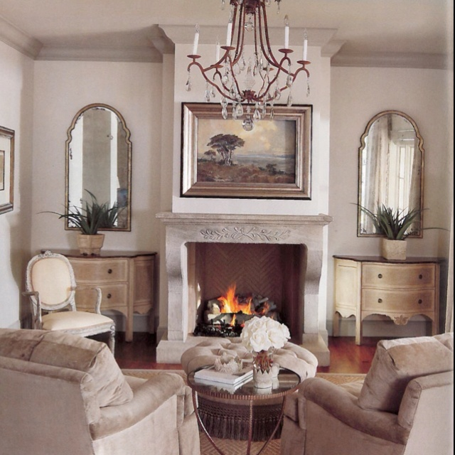 So Elegant Love A Sitting Area In A Master Bedroom By: Simple Elegance In This Candelaria Design