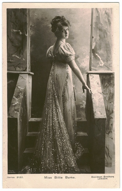 BURKE, Billie_Davidson. (Real Photographic; 2122). Photo Bassano