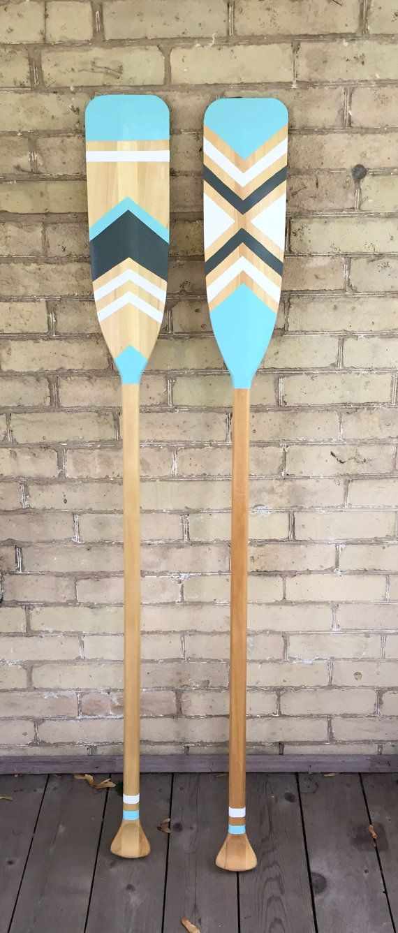 Customizable Decorative Canoe Paddle by WantToTryDIY on Etsy