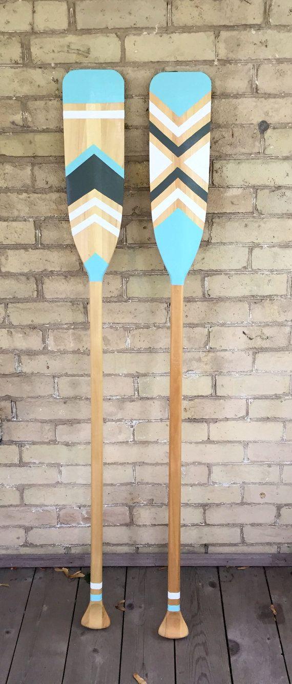 Customizable Decorative Canoe Paddle by WantToTryDIY on Etsy