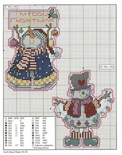 murzilka1019 - «78 xmas ornaments charts 51-52.jpg» on Yandex