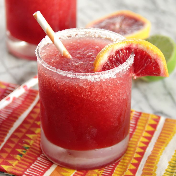 Blood Orange Margaritas | Banana cream cheesecake, Frozen and Blood ...