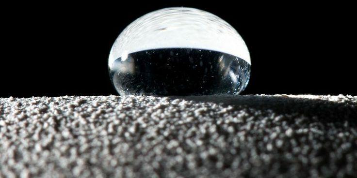 Ученые создали поверхность с удивительным свойством  http://telegraf.com.ua/1296325