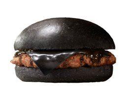 Black Burger King hamburger in Japan. Om nom nom?