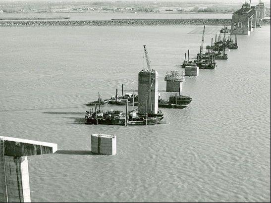 Pont Champlain. Voyage dans le temps.
