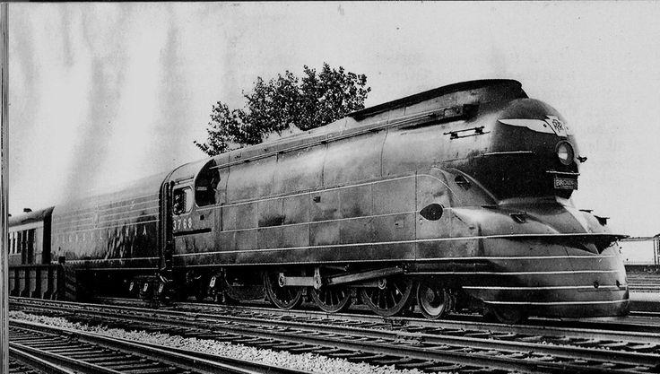 Pennsylvania Railroad K4 class 4-6-2 Pacific steam locomot
