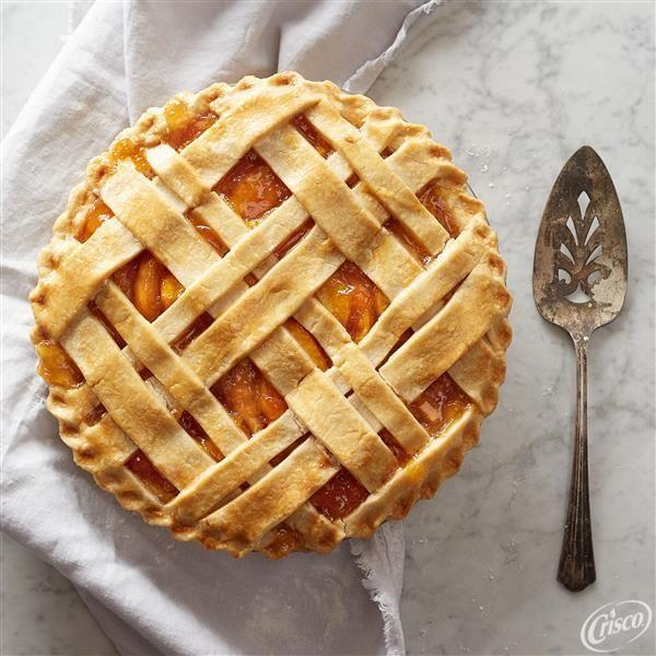 "Grandma Anna Friese // AKA ""Pie Lady"" from South St. Paul // Her famous classic Crisco® Pie Crust recipe"