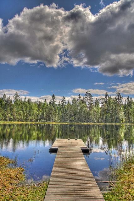 Ahvenlampi, Finland
