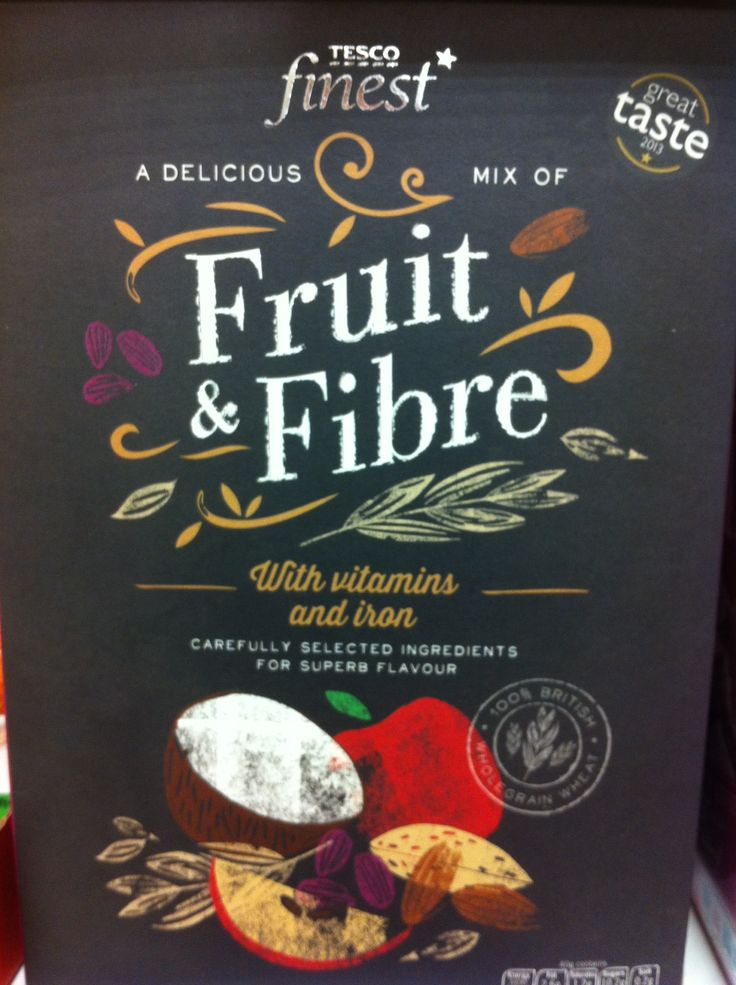 Tesco Finest- Fruit & Fibre