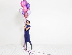 Uit de Viva-fotoshoot met de leukste ballon aller tijden: zoek de paarse Octopus! ;)